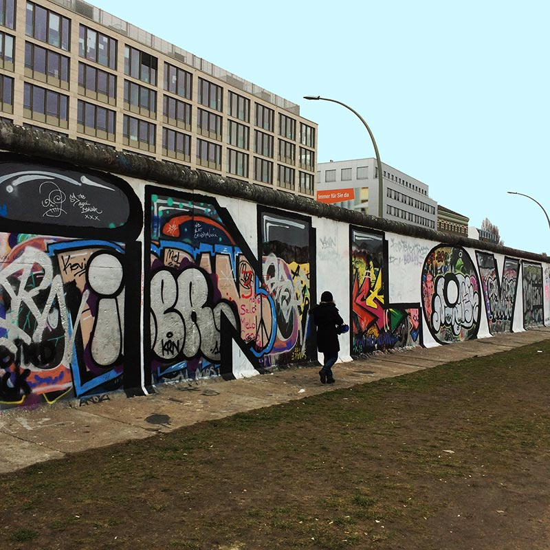 Mauer & Graffiti